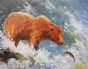 Robert Stump - Grizzly Fishing