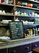Groceries In General Store Print by Susan Savad