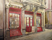 Grocery Store Prints - Grocery Store in Old Town Print by Tomas Castano