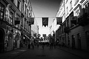 Polish City Prints - Grodzka Street Leading To The Main Square In Krakow Print by Joe Fox