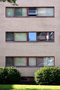 Bauhaus Photo Prints - Gropius Bauhaus Dorm Buildings at Harvard Law School Print by Jannis Werner