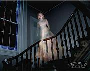Paranormal  Digital Art Prints - Grosvenor Ghost Print by Tom Straub