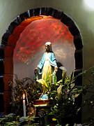 Christian Prayer Photos - Grotto Of The Blessed Virgin by Al Bourassa