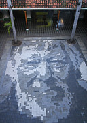 Rudi Prott - ground mosaic in the...