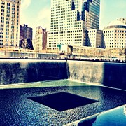 Recently Sold - Featured Art - Ground Zero Memorial by Michael Gonzalez