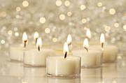 Sandra Cunningham - Group of tea lights for holiday celebrations