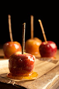 Glazed Posters - Group Of Toffee Apples Poster by Christopher and Amanda Elwell