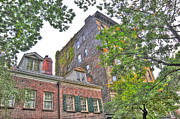 West Village Prints - Grove Street Townhomes Print by Randy Aveille