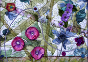 Floral Tapestries - Textiles - Grow by Jean Baardsen
