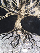 Growing Roots Print by Tara Thelen