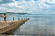 Susie Peek-Swint - Groynes At Lyme Regis