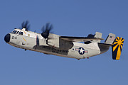 Greyhound Photos - Grumman C-2A Greyhound BuNo 162173 Phoenix-Mesa Gateway March 1 2013 by Brian Lockett