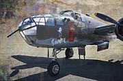 Grumpy  B-25 D Mitchell Bomber  /  43-3318 Print by Daniel Hagerman