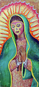 Wrestling Painting Originals - Guadalucha by Nancy Almazan