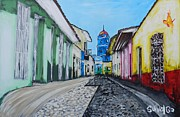Susana Varela Guillot - Guairo St and Blue Church