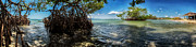 Guamache Beach Venezuela Panorama Print by Mountain Dreams