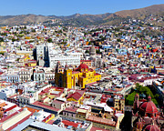 Colonial City Photo Posters - Guanajuato Poster by Douglas J Fisher