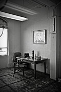 White Walls Framed Prints - Guard dining area in Alcatraz prison Framed Print by RicardMN Photography