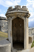 Castillo San Cristobal Posters - Guard House at El Morro Poster by Birgit Tyrrell