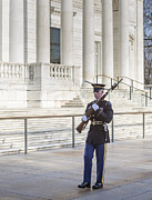 Bayonet Photo Prints - Guard Of Honor Print by Susan Candelario