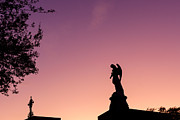 Metairie Cemetery Prints - Guardian Angel Print by Chris Moore