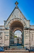 Metairie Cemetery Prints - Guardian Angel Print by Steve Harrington