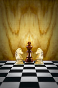 Chess King Framed Prints - Guardian Concept Framed Print by Colin and Linda McKie