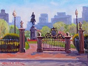 Dianne Panarelli Miller Prints - Guarding the Gate Print by Dianne Panarelli Miller
