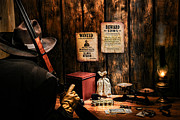 Treasure Box Photo Posters - Guarding the Payroll Poster by Olivier Le Queinec