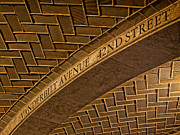 42nd Street Digital Art - Guastavino Tile Ceiling by Jerry Fornarotto