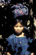 Guatemala Smiling Maya Girl Print by John  Mitchell