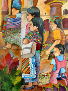 Mayan Paintings - Guatemala2 by James Huntley