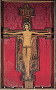 Female Christ Photos - Guglielmo, Crucifix, 1138, 12th by Everett