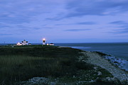 Ri Lighthouse Prints - Guiding Light Print by Andrea Galiffi