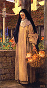 Guinevere Posters - Guinevere Poster by Eleanor Fortescue Brickdale