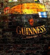 Signage Posters - Guinness Cooler Poster by Chris Berry