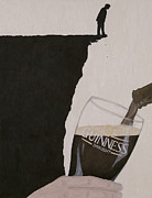 Beer Oil Paintings - Guinness Is Good For You by Philip Guiver