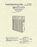 Amplifier Posters - Guitar Amplifier 1971 Patent Art Poster by Prior Art Design