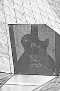 Boxed Prints - Guitar and Lines Print by Susan Stone