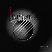 Best Digital Art Originals - Guitar by Franziskus Pfleghart