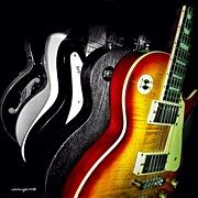 Music Art - #guitar #guitars #acousticguitar by Sammy Evans