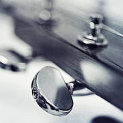 Strings Photos - guitar I by Priska Wettstein
