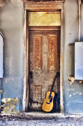 Guitar Photos - Guitar in Door by Bill Cannon