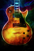 Guitar Photographs Posters - Guitar ll Poster by Deena Athans