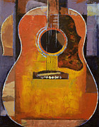 Guitare Posters - Guitar Poster by Michael Creese