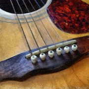Guild Art - Guitar by Michelle Calkins