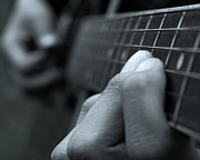 Classic Audio Player Photos - Guitarist by Peter Gudella