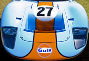 Aotearoa Metal Prints - Gulf Ford GT40 Metal Print by motography aka Phil Clark