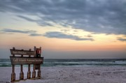 Pensacola Beach Prints - Gulf Islands National Seashore Print by JC Findley