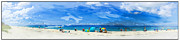 Englewood Framed Prints - Gulf of Mexico Ver - 1 Framed Print by Larry Mulvehill